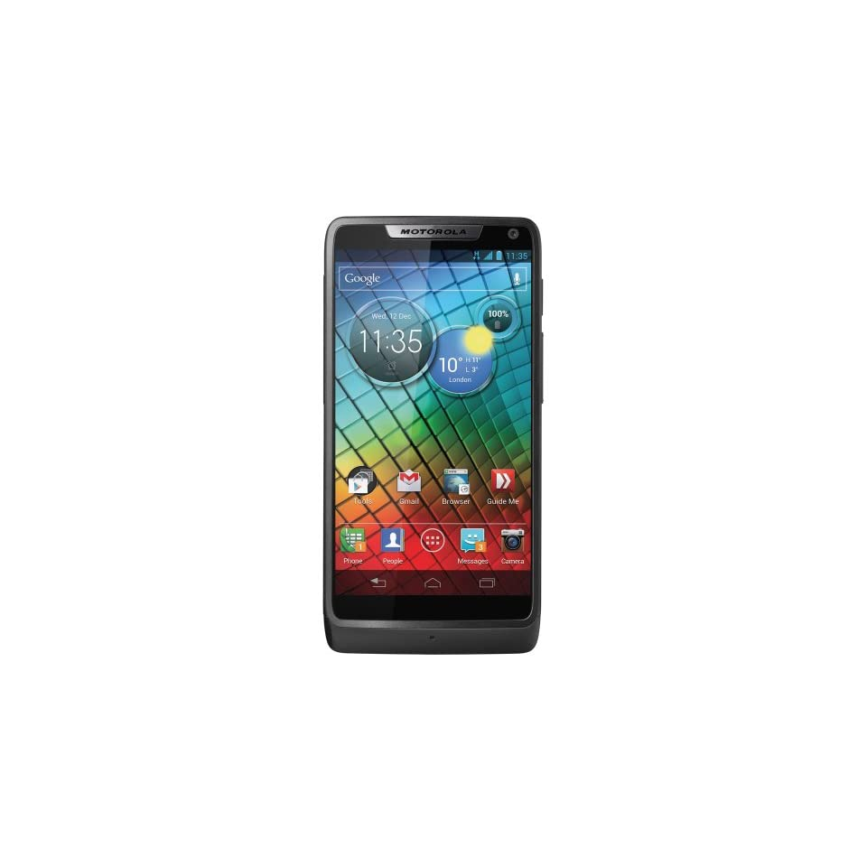 Motorola XT890 RAZR i Unlocked Android Smartphone with 8MP Camera, Wi Fi, GPS, 4.3 Inch Screen, 2 GHz Processor, 8 GB Memory and MicroSD Slot   No Warranty   Black Cell Phones & Accessories