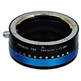 Fotodiox Pro Lens Mount Adapter with Iris,Contax N(Iris) to Fujifilm X (X-Mount) Camera Body, for Fujifilm X-Pro1, X-E1