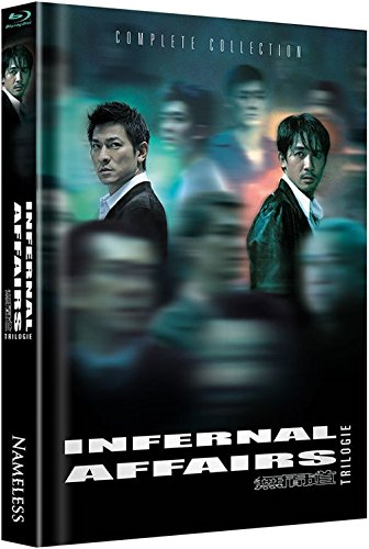 Infernal Affairs 1-3 - Trilogie - Mediabook [Blu-ray] [Limited Edition]