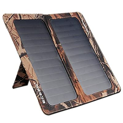 ECEEN Solar Charger Foldable Solar Panel Charge for Iphones, Smartphones, Tablets, GPS Units, Bluetooth Speakers, Gopro Cameras, And Other Devices