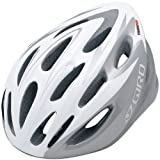 Giro Transfer Bike Helmet (White/Silver, Universal Fit)