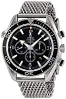 Omega Men's 2210.52.00 Seamaster Planet Ocean Chronograph Dial Watch by Omega