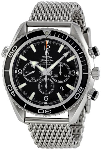 Omega Men's 2210.52.00 Seamaster Planet Ocean Chronograph Dial Watch