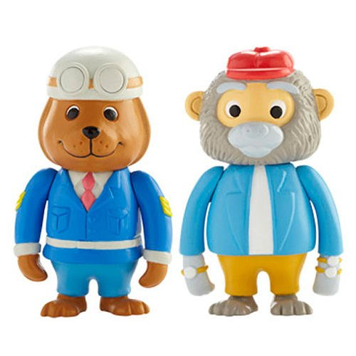 Richard Scarry Busytown Sgt. Murphy and Bananas Figure Pack