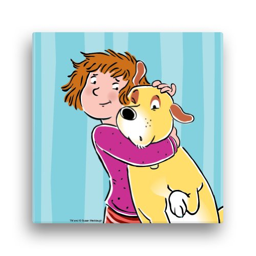 "PBS KIDS Martha Speaks Helen 16 x 16"" Canvas Wall Art - 1"