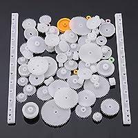 Lucksender 75 Type Plastic Crown Gear Single Double Reduction Gear Worm Gear from JeabJJ Shopping