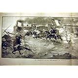 Impresión 1903 del Tren-Viaje de Presidente Kreide de Argelia
