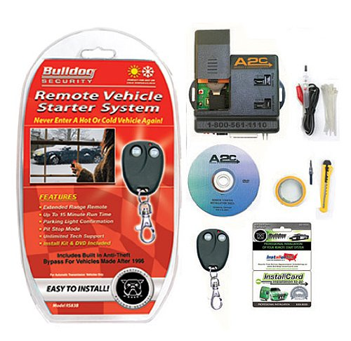 bulldog security rs83b remote starter with built in bypass. Black Bedroom Furniture Sets. Home Design Ideas