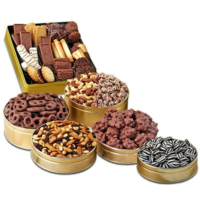 Super 6-Tin Snack Extravaganza Gift Set