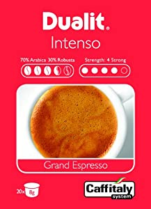 Buy Selectric Dualit Caffitaly Coffee Capsules - Intenso Grand Espresso Pk20 from Dualit