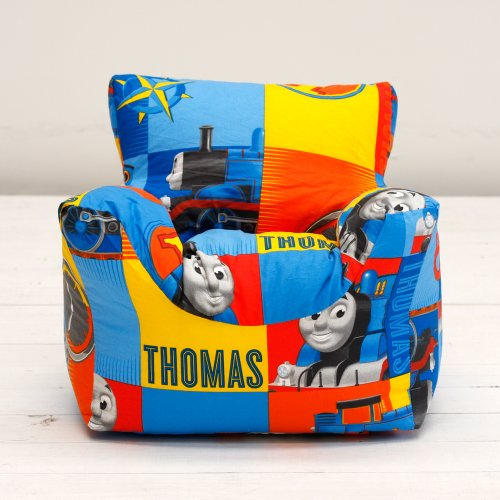 Thomas The Tank Engine Power Boys Character Bean Chair Beanbag Filled with Beans