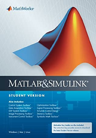 MathWorks MATLAB and Simulink Student Version R2014a