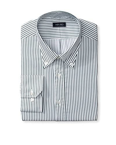 Gitman Men's Stripe Dress Shirt