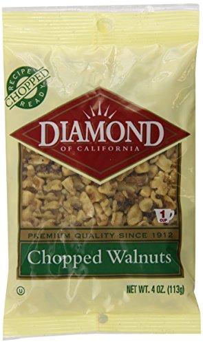 Diamond Chopped Walnuts, 4 Ounce (Pack Of 12)