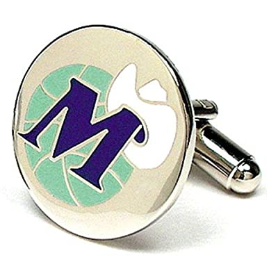 Dallas Mavericks NBA Logo'd Executive Cufflinks w/Jewelry Box by Cuff Links