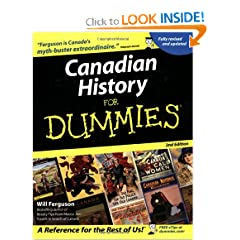 Canadian History for Dummies by Will Ferguson