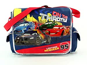 Disney's Cars Messenger Bag - Disney's Cars Shoulder Bag by msgr-cars-kdj60615-15a-e-up23