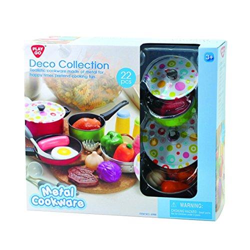 playgo-6988-deko-kollektion-kuchenspielzeug-22-teilig