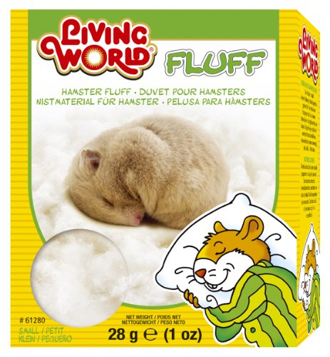 Living World Hamster Fluff, 1-Ounce 51FvtDlicaL