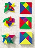EDX Education - Shapes - Soft Plastic Tangrams
