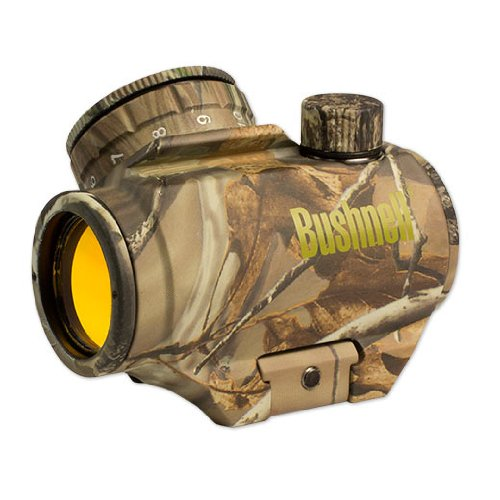 Read About Bushnell Trophy TRS-25 Red Dot Sight Riflescope, 1 x 25mm (tilted front lens)