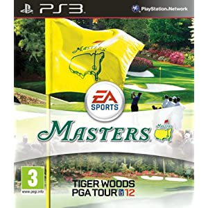 Tiger Woods PGA Tour 12 The Masters Game (Move Compatible) PS3 [UK-Import]