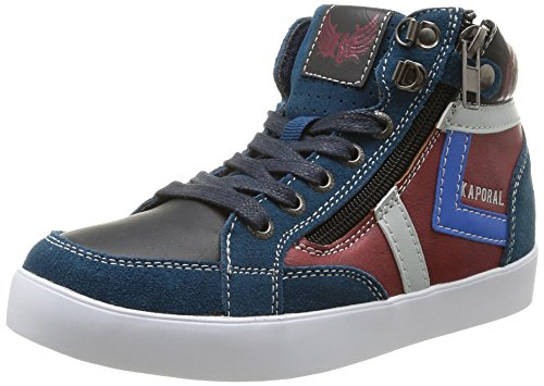 Kaporal  Pacom,  Sneaker ragazzo Blu Bleu (10 Marine) 34