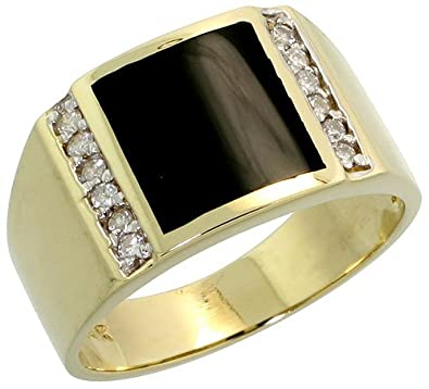 Gold rings for men with diamonds Wedding rings for men with diamonds