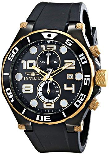Invicta Men's 15396 Pro Diver Analog Display Japanese Quartz Black Watch image