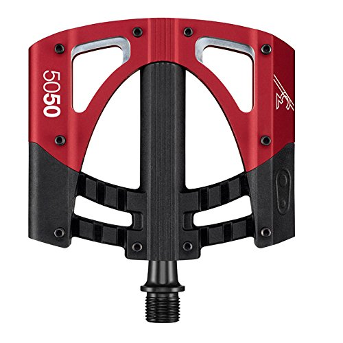 Crank Brothers 5050 3 Red/Black Platform Pedals (Nukeproof Electron compare prices)