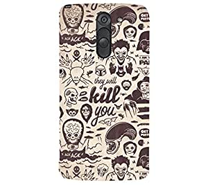 perfect print Back cover for LG G3 Stylus