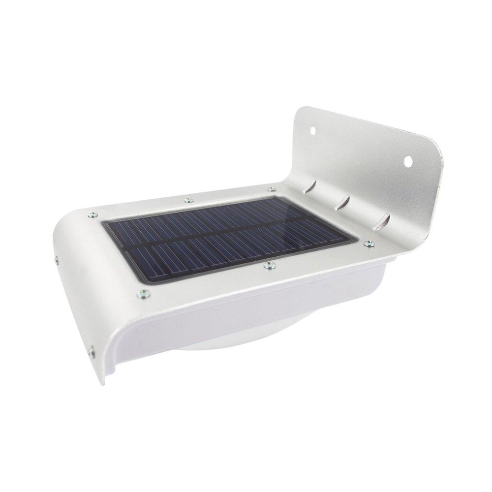 Lámpara solar con detector de movimiento para exterior