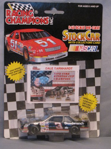 Racing Champions 1:43 stock Car Nascar Dale Earnhardt 1992