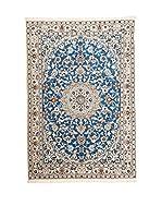 Navaei & Co. Alfombra Persian Nain Extra 9 Lah Azul/Multicolor 171 x 109 cm