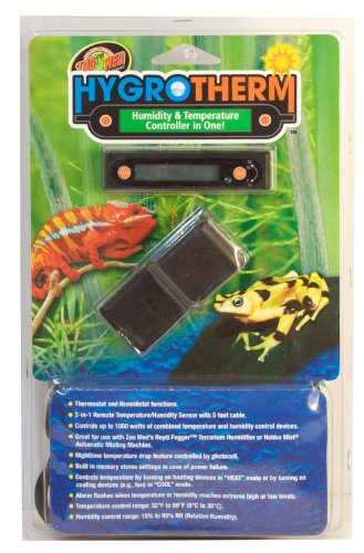 Zoo Med HygroTherm Humidity and Temperature Controller