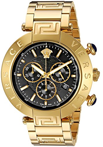 Versace-Mens-REVE-CHRONO-Swiss-Quartz-Stainless-Steel-Casual-Watch-Model-VQZ090015