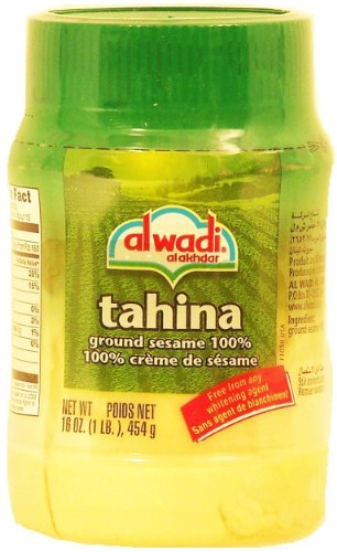 Al Wadi Tahina, 100% Ground Sesame, 16-Ounce Jars