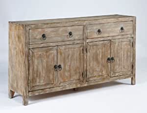 Amazon.com: Rustic Accents Accent Cabinet: Kitchen & Dining