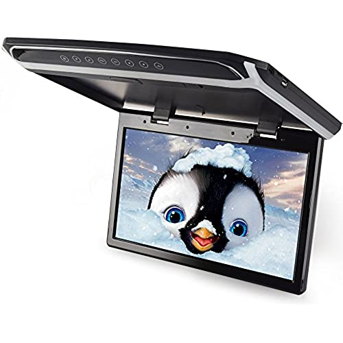 LOSKAflip 다운 모니터 15.6인치 디지탈 flip 다운 모니터 LED백 라이트 액정HDMI USB MicroSD대응 LED백 라이트 액정 고화질1920*1080-