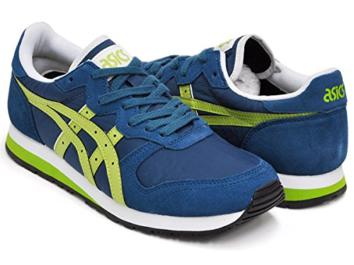 (アシックス) asics Tiger OC RUNNER [タイガー オーシー ランナー] REGION BLUE / GREEN OASIS tqn517-4583