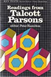 Readings from Talcott Parsons (Key Texts) (0853128545) by Parsons, Talcott