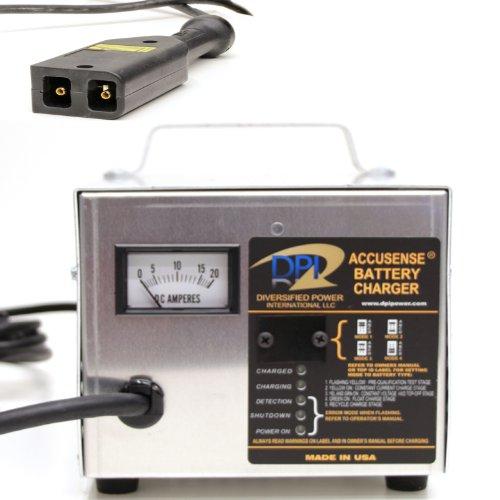 48Volt 17Amp Golf Cart Battery Charger With Ez-Go Txt-48V Connector