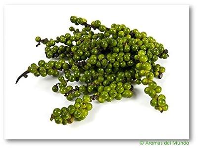 Pfeffer grün getrocknet ganz 112 g von Aromas del Mundo auf Gewürze Shop