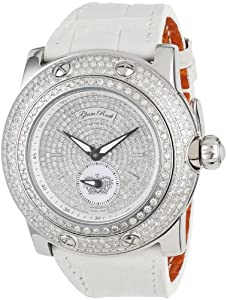 Glam Rock Women's GR80016 Special Edition Collection Diamond Leather Watch