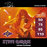 Rotosound SH77 Steve Harris Monel Flatwound Bass Guitar Strings (50-110)