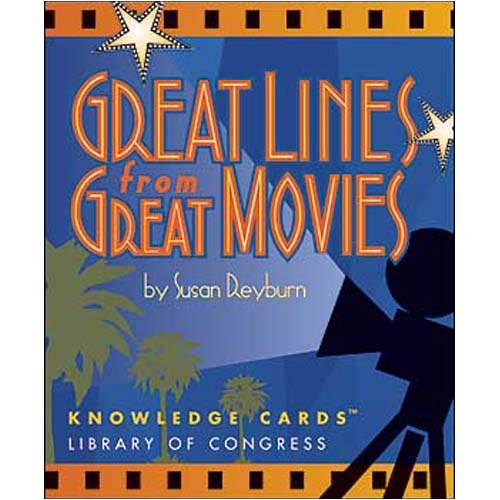 GREAT LINES GREAT MOVIES KNOWLEDGE CARDS - Buy GREAT LINES GREAT MOVIES KNOWLEDGE CARDS - Purchase GREAT LINES GREAT MOVIES KNOWLEDGE CARDS (Pomegranate, Toys & Games,Categories)