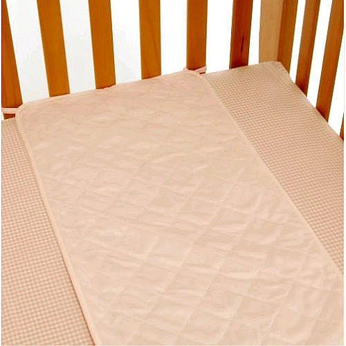 Babies R Us Plush Sheet Saver - Pink - 1