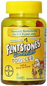 Flintstones Toddler Gummies, 80 Count
