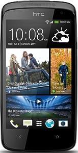 HTC Desire 500 Smartphone (8 Megapixelkamera, 10,9 cm (4,3 Zoll) Display, 1,2GHz, Quad-Core Prozessor, Android) glossy black