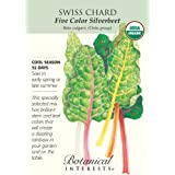 Swiss Chard Five Color Certified Organic Seeds